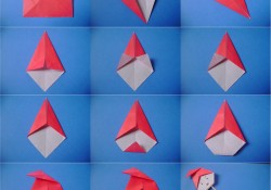 Origami do Saci-Pererê